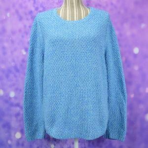 Talbots Caribbean Blue Sweater